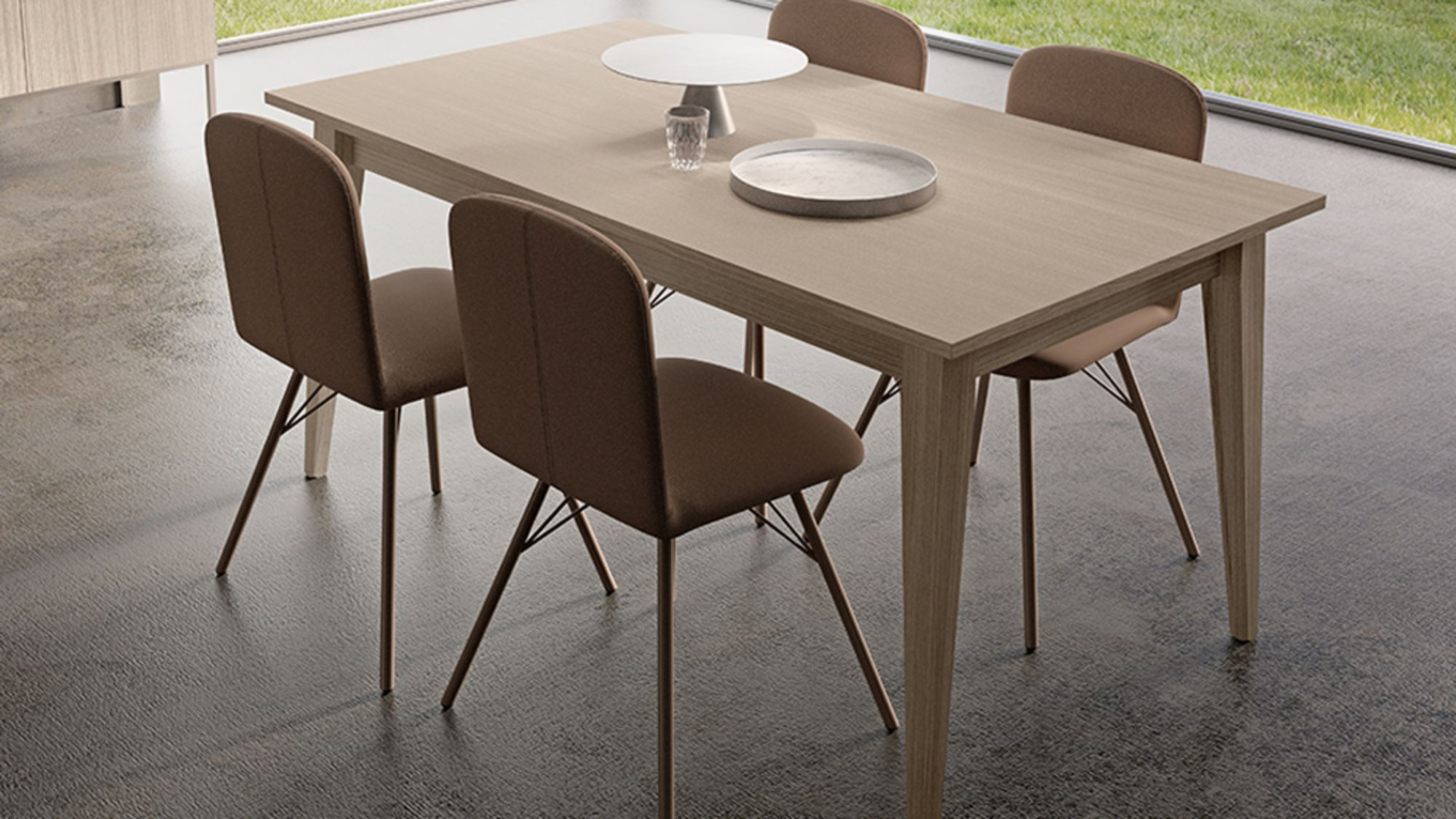 Tavolo Moderno Michelle