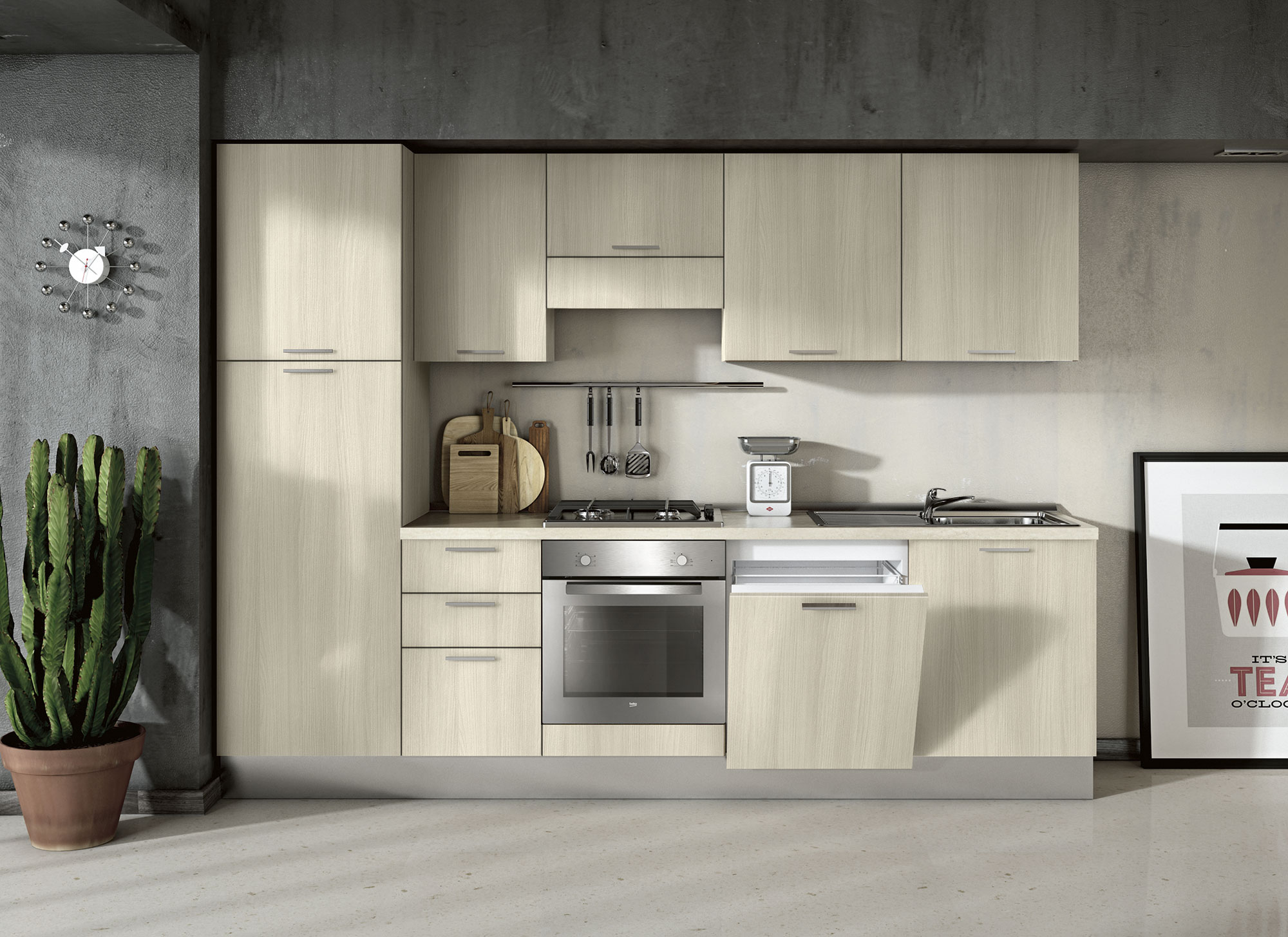 Cucina Moderna – Compo 02