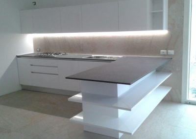 Cucina elegante e moderna